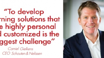 """""""To develop learning solutions that are highly personal and customized is the biggest challenge"""""""